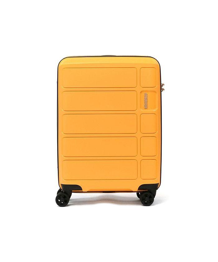 (AMERICAN TOURISTER/アメリカンツーリスター)【日本正規品】サムソナイト アメリカンツーリスター スーツケース AMERICAN TOURISTER 機内持ち込み Spinner 55 62G−905/ユニセックス イエロー