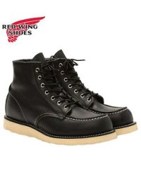 レッドウィング RED WING 6インチ クラシック モック トゥ ブーツ メンズ 6INCH CLASSIC MOC TOE Dワイズ ブラック 黒 907