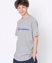 【女性にもオススメ】【WEB限定】Champion(チャンピオン)ロゴプリントベーシックTシャツ(C3-P302)