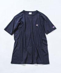 【女性にもオススメ】【WEB限定】Champion(チャンピオン)ベーシックワンポイントロゴ刺繍半袖Tシャツ(C3-P300)