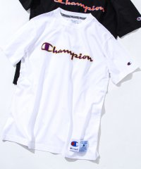 【女性にもオススメ】【WEB限定】Champion(チャンピオン)アクションスタイルロゴ刺繍半袖Tシャツ(C3-Q301)