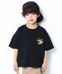 BIGシルエットロゴ刺繍Tシャツ