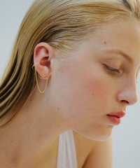 Saskia Diez WIRE EARCUFF DOUBLE NO2CH