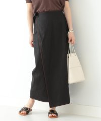 Demi-Luxe BEAMS / パイピング ラップスカート