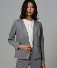 [L]【洗える・消臭・UVカット・接触冷感】カラーレスジャケット
