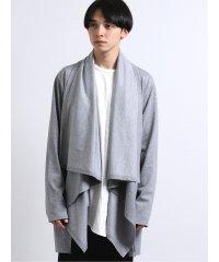 【WEB限定Sサイズ有り】ドレープカラージャケット/カーディガン