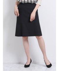 トラベスト/TRABEST セットアップ フレアースカート 黒ウィンドペン