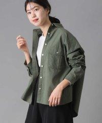 【OMNES Another Edition】製品洗い 綿麻 CPOシャツジャケット
