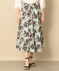 【EPOCA THE SHOP】フラワープリントスカート