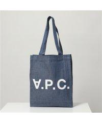 【APC A.P.C.(アーペーセー)】COEBB H61296 Laurent デニム トートバッグ ショッピングバッグ IAI/INDIGO レディース