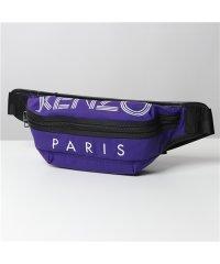 【KENZO(ケンゾー)】5SF212 F24 80 BUMBAG ロゴ ボディバッグ ウエストポーチ ベルトバッグ 鞄 メンズ