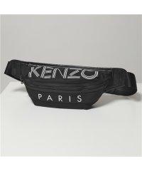 【KENZO(ケンゾー)】5SF212 F24 BUMBAG ロゴ ボディバッグ ウエストポーチ ベルトバッグ 99/Nero 鞄 メンズ