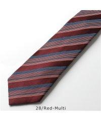 【Paul Smith(ポールスミス)】552M ALU16 カラー2色 シルク ネクタイ ジャガード レジメ ストライプ メンズ