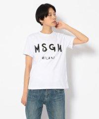 MSGM(エムエスジーエム)ジェルロゴTEE/Tシャツ
