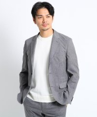 【Sサイズ~】リネンライクプリントジャケット (クールドッツ(R))
