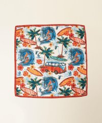LELLE:SEAプリントスカーフ