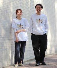 THREE CATS ロングTシャツ