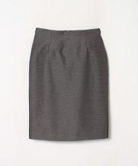 小紋柄ジャガードタイトスカート