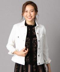【L JEANS】ホワイトデニムジャケット