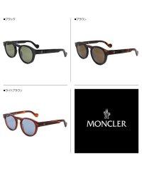 モンクレール MONCLER サングラス メンズ レディース UVカット ウェリントン SUNGLASSES ブラック ブラウン 黒 ML0099