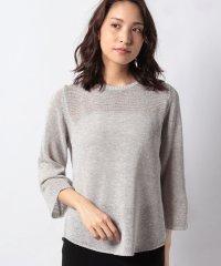 【アンサンブル対応】インポート素材 ラメ入り天竺セーター