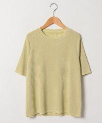 【アンサンブル対応】【大きいサイズ】ラメプレーティングセーター