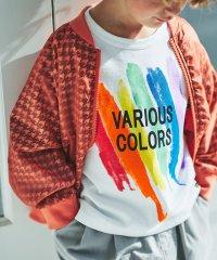カラフルペイント半袖Tシャツ(80~150cm)