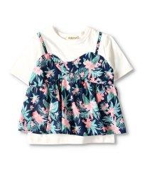 キャミ重ね着風半袖Tシャツ(90~150cm)