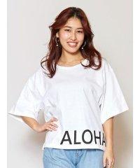 【Kahiko】BIG ALOHA Tシャツ 4JU-0109