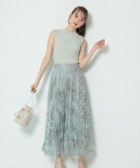 【STORY6・7月合併号掲載】マーブルプリーツスカート