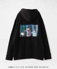 【LOVELESS×ガンダム&ハローキティ プロジェクト】敬礼 ハローキティ コラボフーディー