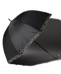 完全遮光 晴雨兼用 長傘 トゥインクルスター 遮光率100% 遮蔽率100% 1級遮光 遮熱 軽量 UVカットブラック×トゥインクルスター