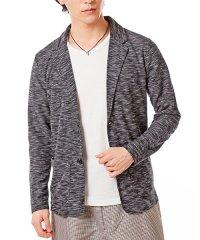 スラブ織りカット素材シングル2Bテーラードジャケット