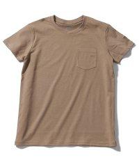 ノースフェイス/レディス/S/S SIMPLE LG P T / シンプルロゴポケットTシャツ