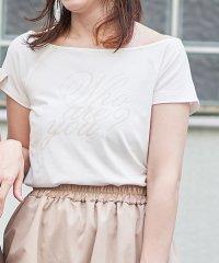 カジュアルロゴTシャツ