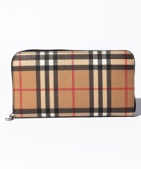 【BURBERRY】ZIP AROUND WALLET