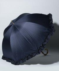 フリル付き晴雨兼用長傘 日傘
