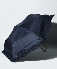 フリル付き晴雨兼用折りたたみ傘 日傘