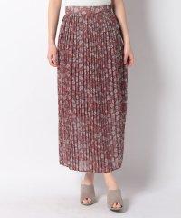 【ROSSO】フラワープリントプリーツスカート