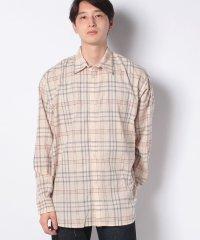 【SENSEOFPLACE】タータンチェックシャツ