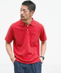 【ROSSO】抗菌防臭鹿の子ポロシャツ