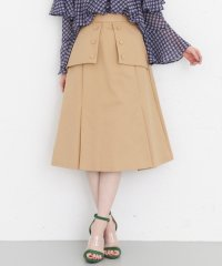 【KBF+】ボタンディテールスカート