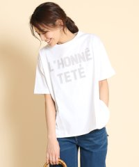 FENNEL(フェンネル) ラウンドヘムオーバーロゴTシャツ