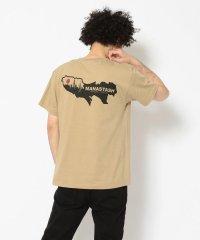 MANASTASH/マナスタッシュ MAP PRINT TEE マッププリントティーシャツ