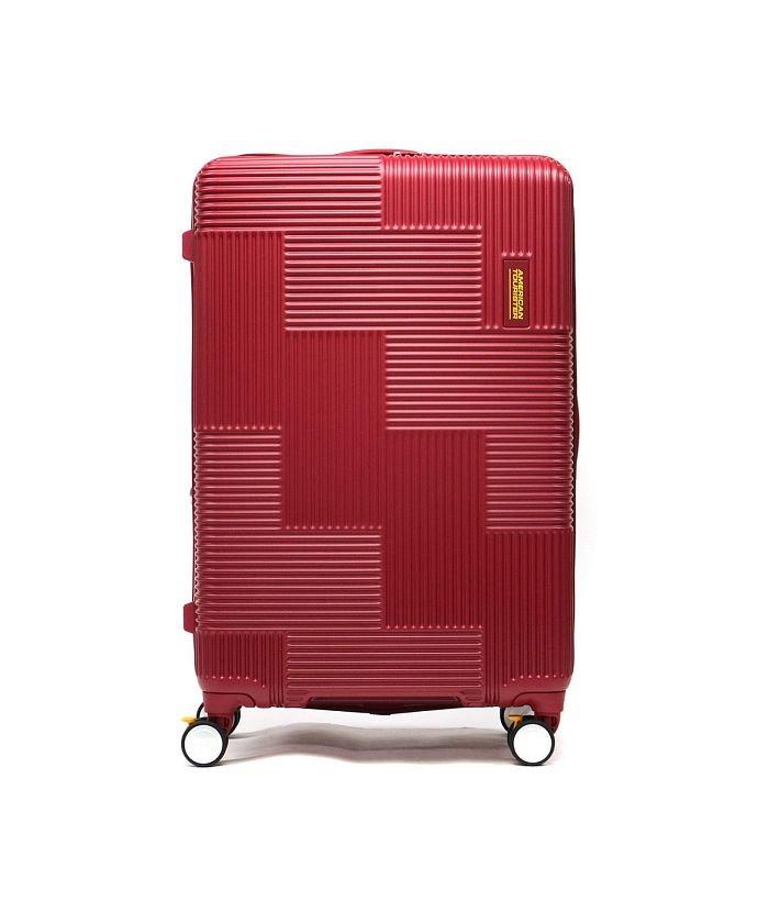 (AMERICAN TOURISTER/アメリカンツーリスター)【日本正規品】サムソナイト アメリカンツーリスター スーツケース AMERICAN TOURISTER VELTON Spinner 76 GL7−008/ユニセックス レッド