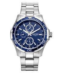 ARMITRON 腕時計 アナログ 多機能ウォッチ ステンレス