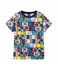 Disney ディズニー ボーイズ 総柄ミッキーTシャツ 326107089