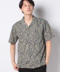 【SonnyLabel】バティック柄オープンカラー半袖シャツ