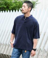 【ROSSO】リラックスパイルポロシャツ