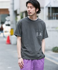 【SonnyLabel】ポケット付LAプリントフェードTシャツ